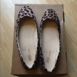 NWT Asos Lassie leopard ballet flats